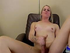 Lusina Devine`s Big Long Cock