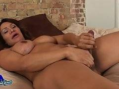 Samantha Jacks Her Big Cock!