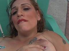Amber Action Poolside